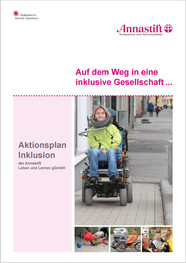 Titelsite des Aktionsplans Annastift